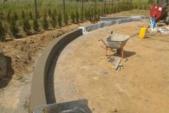 betoninė sienelė