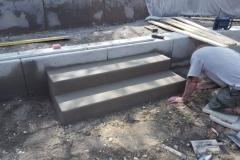 betoniniu laiptu liejimas darbo procesas