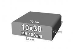 betoninė forma 10x30