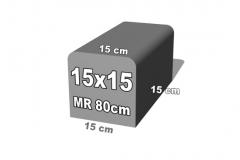betoninis bortelis 15x15