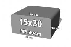 betoninė forma 15x30
