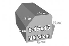 betoninė bordiūro forma 8-15x151