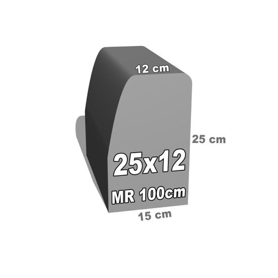 betoninio bordiūro forma 25x12