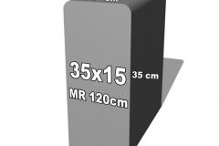 betoninė forma 35x15