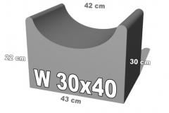 W30x40 betoninis latakas