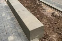 betoniniai suoliukai ir bordiurai