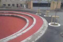 Betoformos žiedas amfiteatras