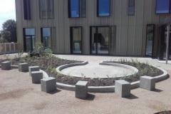 betoformos betoniniai krastovaizdzio architekturos elementai