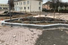 betoniniu sieneliu gamyba miesto erdvems
