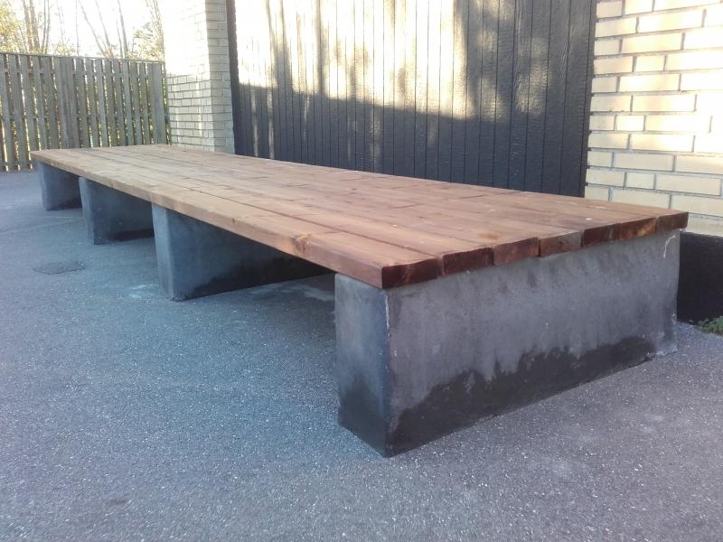 Betoformos betoniniai suoliukai