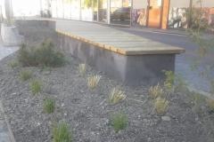 BetoFormos betoninis suoliukas medžiu