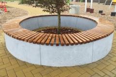 betoninis suoliukas Betoformos Concrete bench