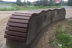 Liejami betoniniai suoliukai