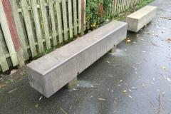 Betoformos betono suoliukai miestui