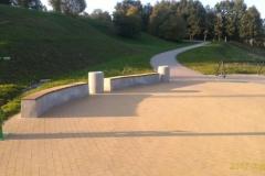 concrete bench betoninis suoliukas
