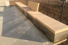 betoninis suoliukas concrete bench