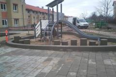 Betoformos betoninia gaminiai žaidimų aiktelėje