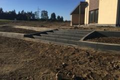 4 betoniniai betoformos laiptai