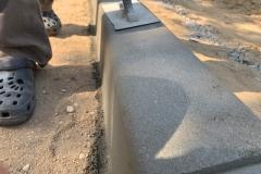 betoniniu borteliu liejimas
