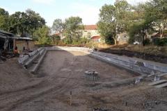 amfiteatro irengimas darbo procesas