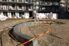betoniniai suolai ir suoliukai