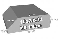betoninis bordiūras 10x23x10