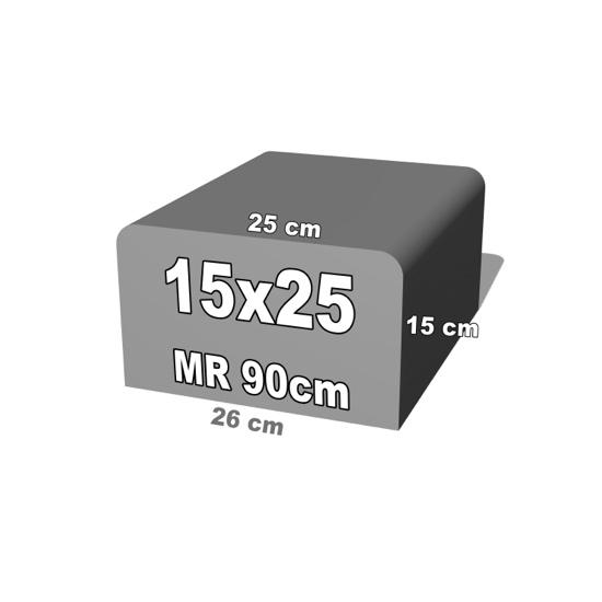 betoninis bortelis 15x25