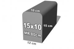 betoninio bordiūro forma 15x10