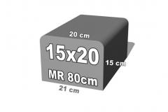 betoninis bortelis 15x20