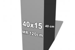 betoninė forma 40x15
