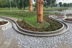 betoniniai vandens latakų liejimas