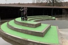 betonines formos vaiku zaidimu aikstelems