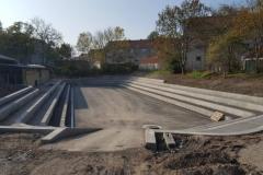 betonines pakopos amfiteatrams