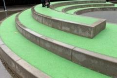 liejami betoniniai gaminiai mokyklu erdvems