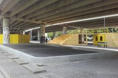 atraminės betoninės sienelės