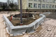 betono sienele alpinariumams