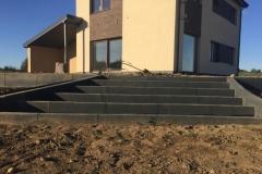 Betoformos betoniniai laiptai