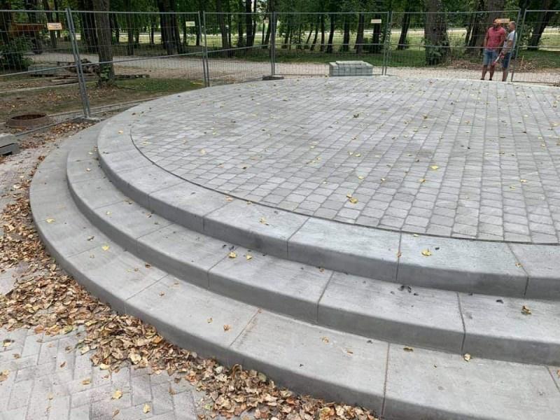 Amfiteatro pakyla