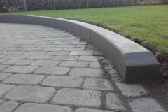 Betoformos betoninis bortelis
