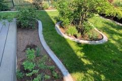 betoniniai borteliai bordiūrai atribojimai gėlynams ir augalams