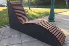 Betoninis gultas Concrete bunk bed