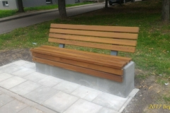 betono suoliukas Concrete bench