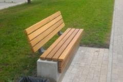 Concrete bench betono suoliukas
