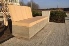 betoniniai suoliukai