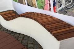 suoliukas betoninis concrete bench