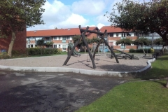 Betoformos betono borteliai