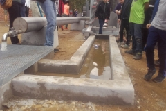 betoniniu lataku ir vandens begimo loveliu gamyba